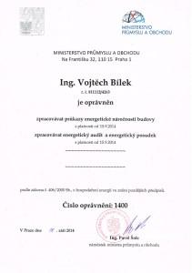 osvědčení ES_1400